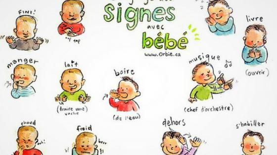 gestuelle bébé
